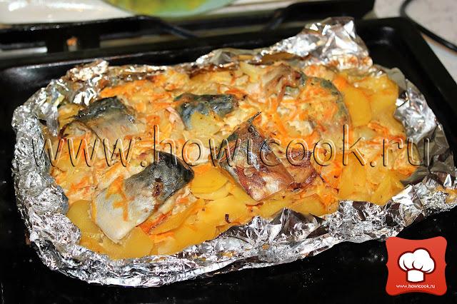 рецепт запеканки с рыбой