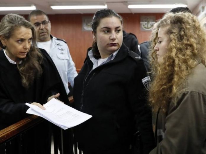 Ahed Tamimi Dipenjara, Kelompok HAM: Israel Diskriminatif