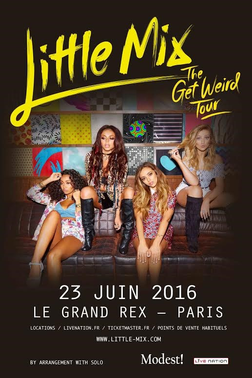 LITTLE MIX en concert à Paris - The Get Weird Tour