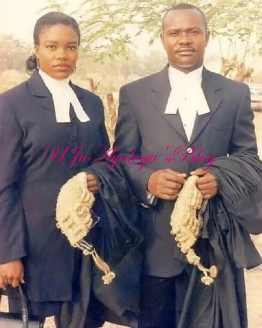 This throwback photo of Nyesom Wike and his girlfriend in law school is everything