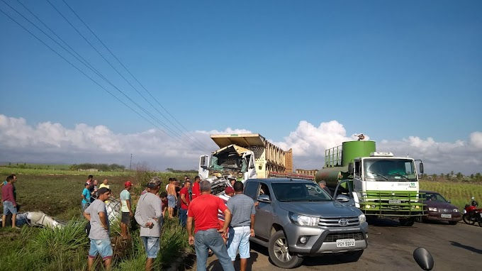 Vendedor de Água morre após acidente fatal na PE-075