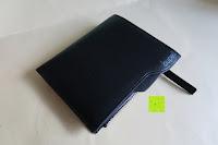Erfahrungsbericht: bupell Flache Portemonnaie mit herausnehmbarem Ausweisfach - Aus echtem Leder - Seitlichem Münzfach mit Reißverschluss - Schwarz