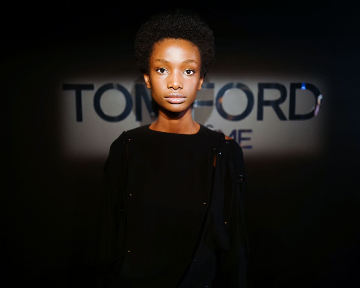 Imari Karanja At Tom Ford Extreme Cocktail Party At New York Fashion Week 2018