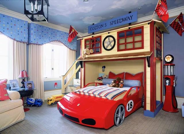 phòng ngủ bé trai - mẫu 2