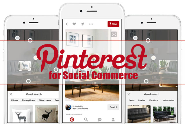 Pinterest eCommerce Social Commerce Social Selling Amazon Google