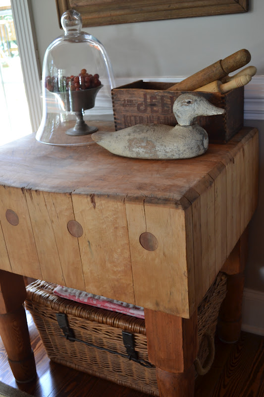 A Red Butcher S Block