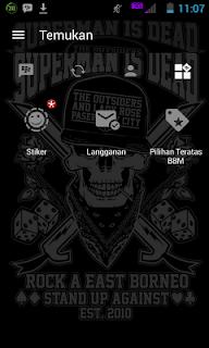 BBM MOD Outsider and The Angle APK v3.0.1.25 terbaru