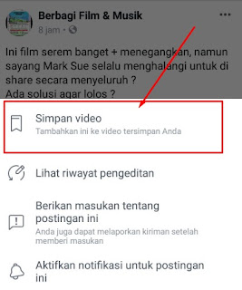 cara download film di fb