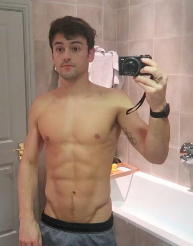 Tom daley nackt