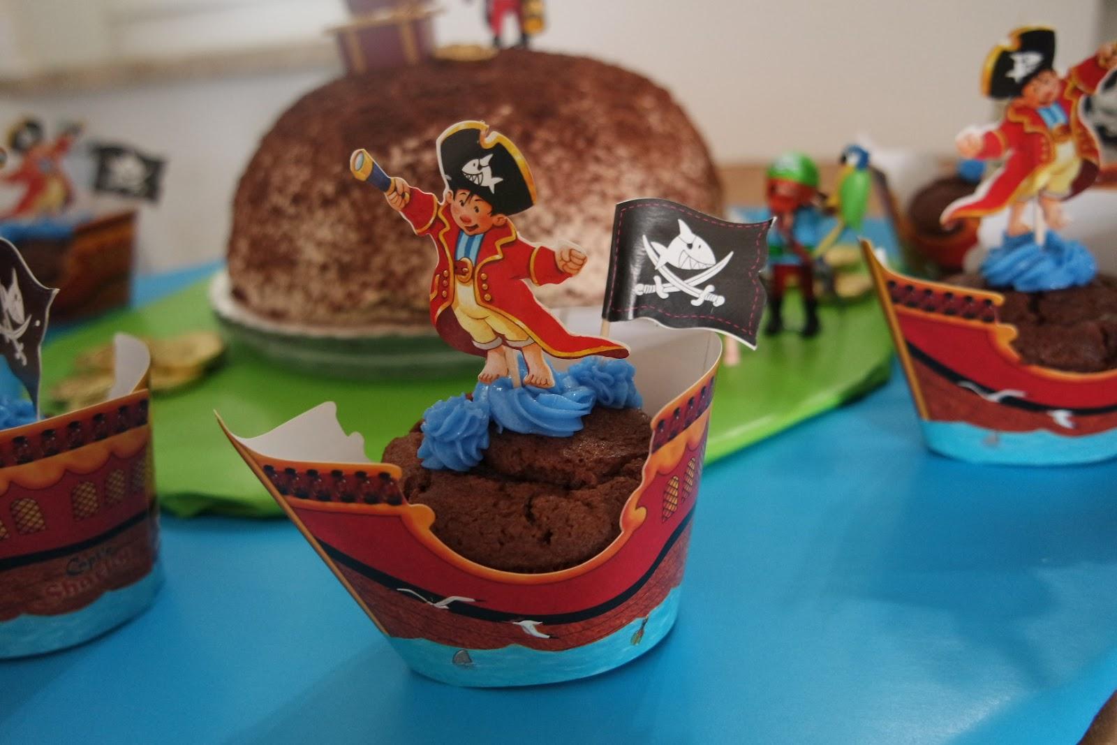 Eine Pirateninsel Als Torte Zum Kindergeburtstag Filine Bloggt