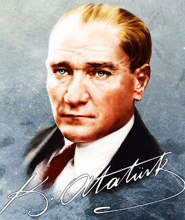 Turkish republic fonder Ataturk