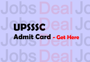 UPSSSC Cane Supervisor Admit Card 2017