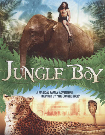 Poster Of Jungle Boy 1998 Dual Audio 600MB DVDRip [Hindi - English] Free Download Watch Online downloadhub.in
