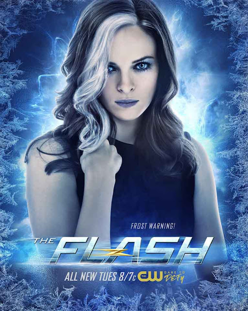 """THE FLASH"" 4×05 Girls Night Out y póster de Killer Frost - DC Comics"