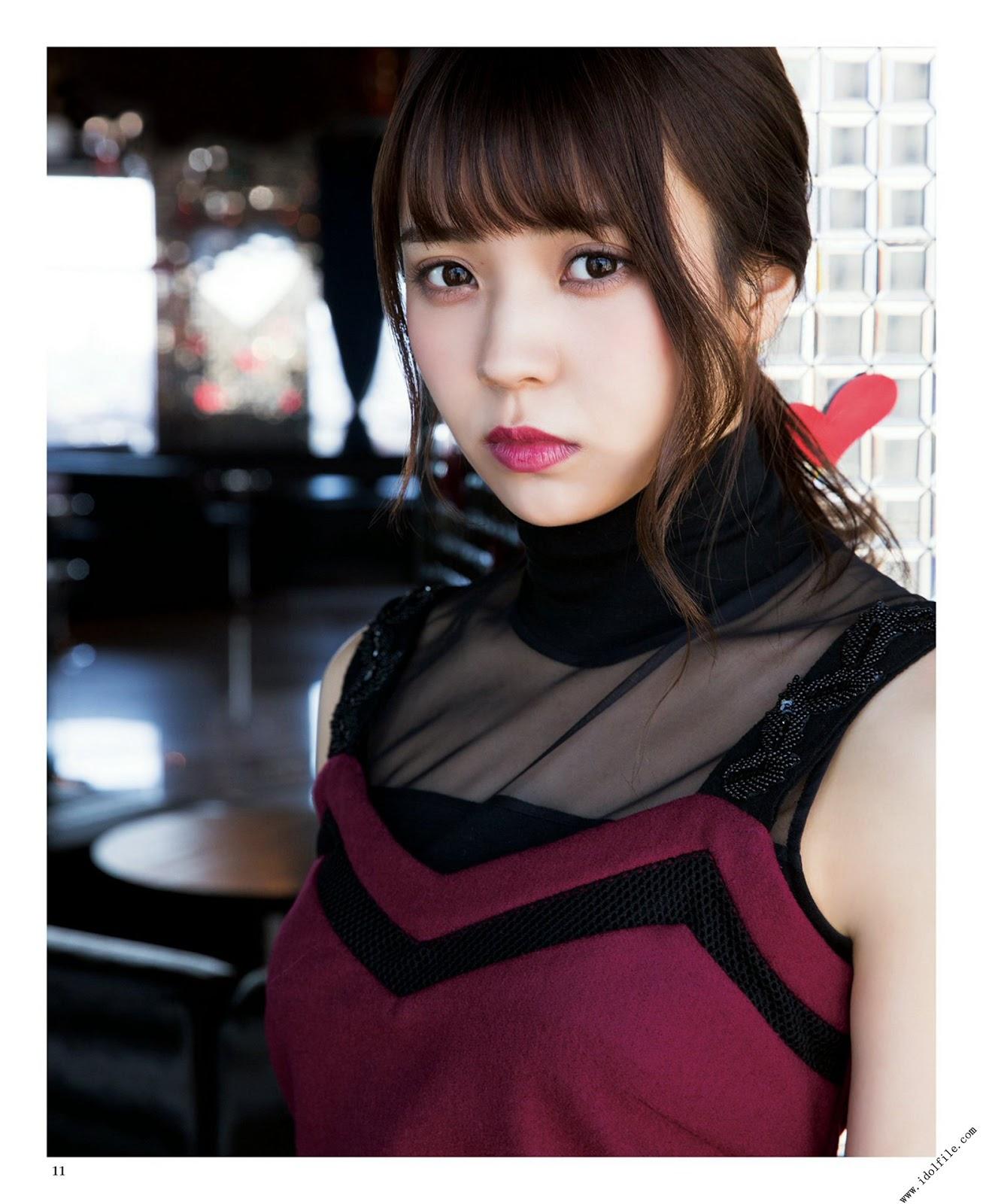 Watanabe Risa 渡邉理佐, Kobayashi Yui 小林由依, BUBKA 2018 No.04 Part.02 (ブブカ 2018年4月号)