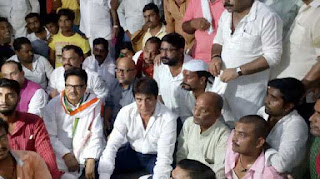 congress-blame-vc-babbar-punia-arrested