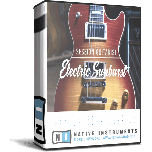Download Native Instruments - Session Guitarist Electric Sunburst KONTAKT Library