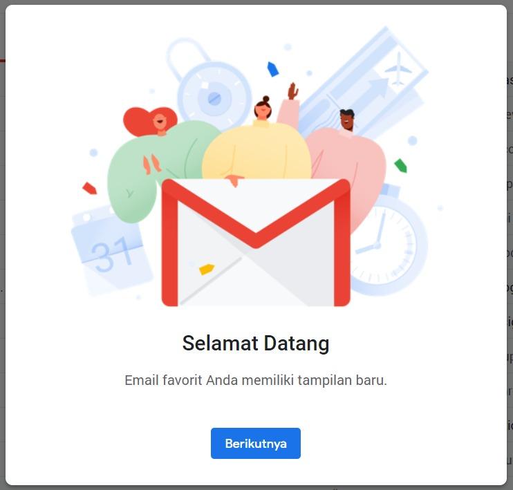 Cara Mengubah Tampilan Baru Gmail 2