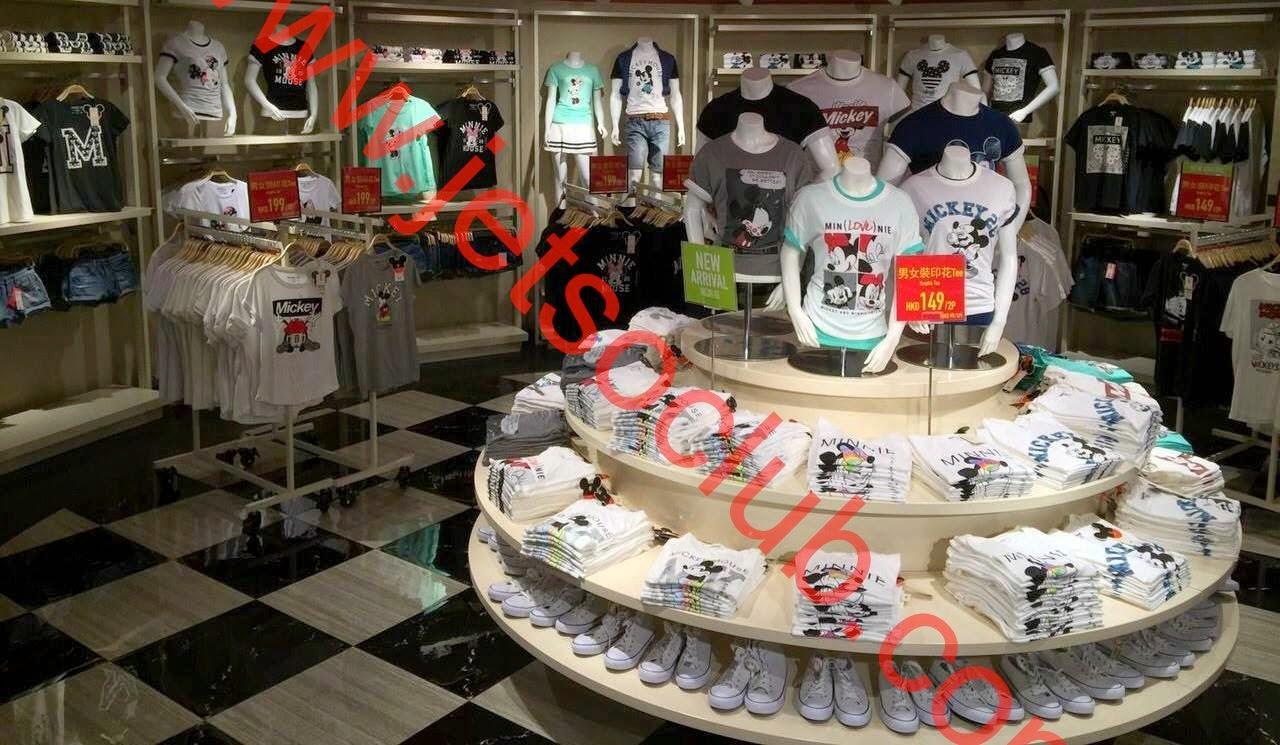 SPAO:男女裝 Disney Graphic Tee $79起 ( Jetso Club 著數俱樂部 )