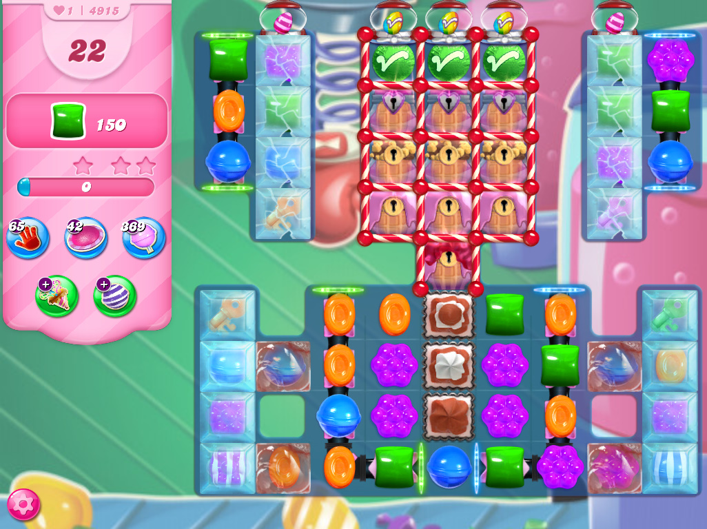 Candy Crush Saga level 4915