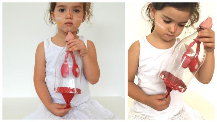 manualidad experimento hacemos pulmones artificiales globos botella