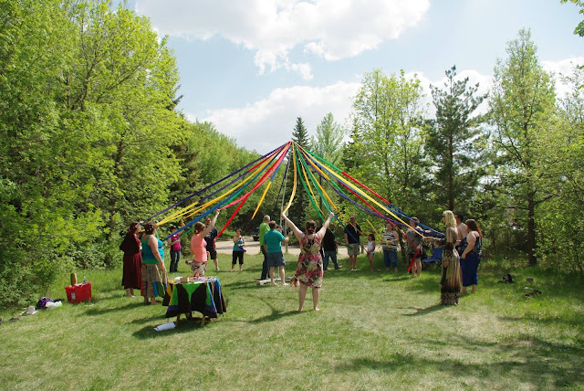 Congregationalist Wicca Association of Saskatchewan- Beltane ritual