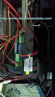 Drive Step dùng trong máy cắt dây đai tự động