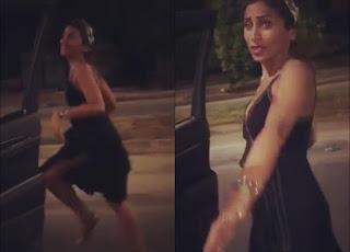 جمهور عمرو دياب يسخر من دينا الشربيني في رقصة تحدي كيكي - kiki على أغنيه شوقنا
