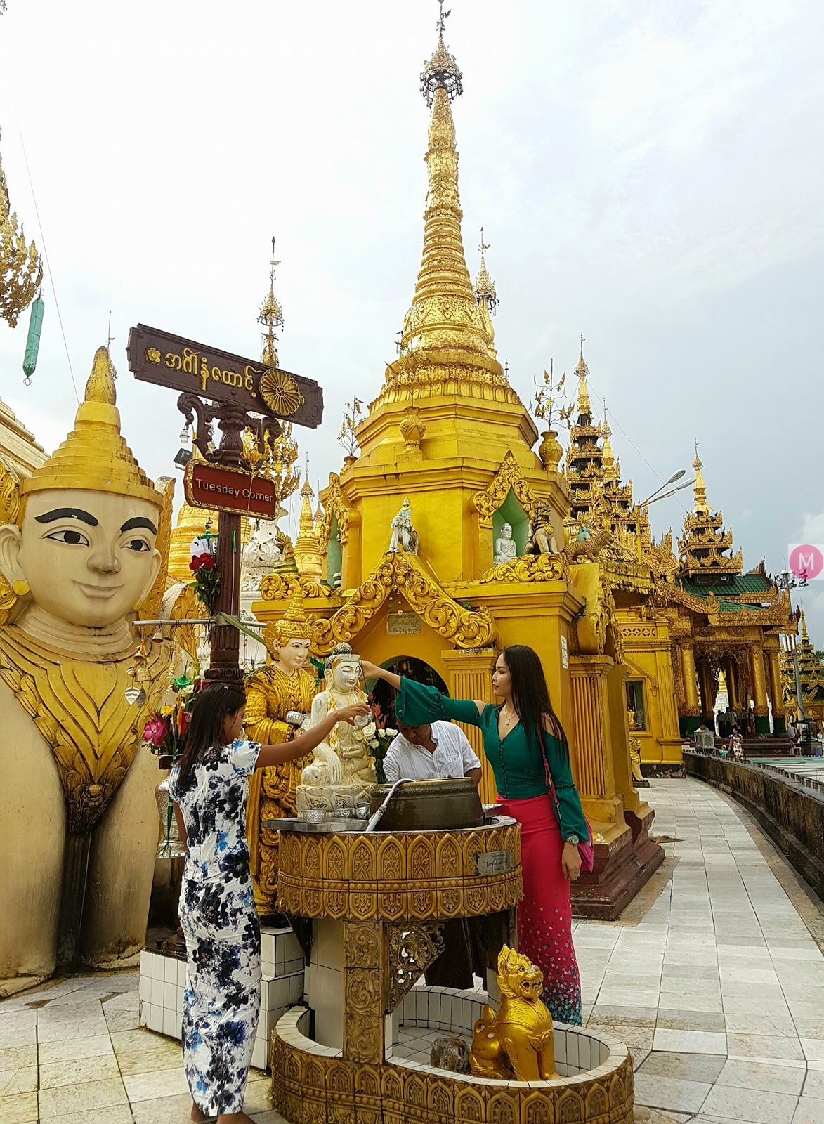 Emerald Nyein Myanmar Fashion Outfit Snaps Collection 1