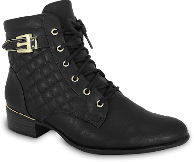 bota cano curto inverno 2016 linda elegante chique moda lançamento tendencia frio look calçado feminino conforto confortavel confortflex preta