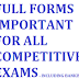 Important Full Forms For All Competitive Exams