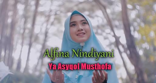 Alfina Nindiyani, Lagu Religi, Lagu Cover, 2018,Download Lagu Alfina Nindiyani Ya Asyqol Musthofa Mp3 Cover Religi Tebaru 2018