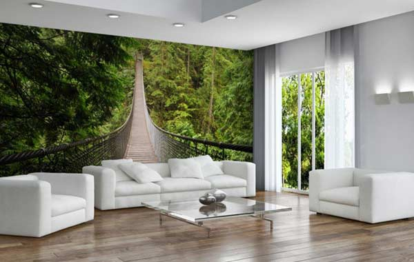 Fantasy 3D Wallpaper Designs For Panoramic Walls