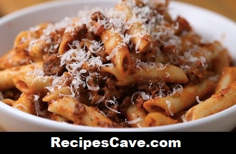 Creamy Sausage Bolognese Recipe
