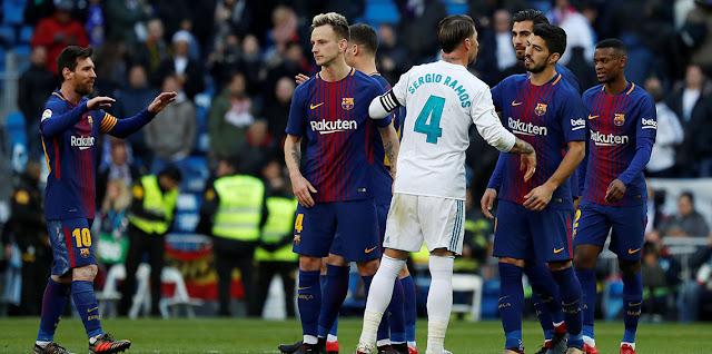 موعد مباراة كلاسيكو الأرض بين ريال مدريد وبرشلونة في الدوري الإسباني والقنوات الناقلة