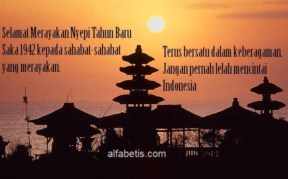 Gambar-gambar dan Ucapan Hari Raya Nyepi Khas Bali