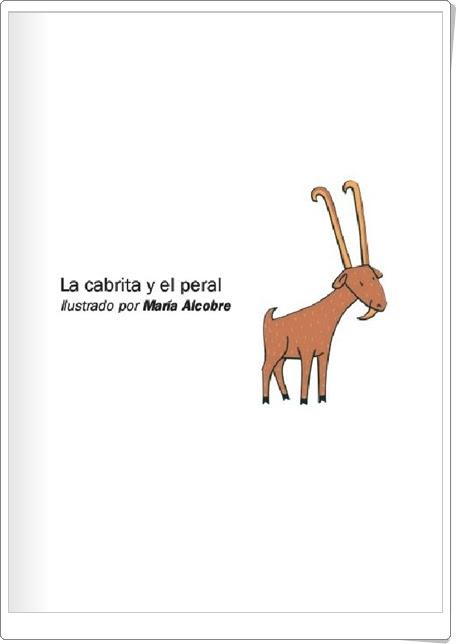 """""""La cabrita y el peral"""" de María Alcobre"""