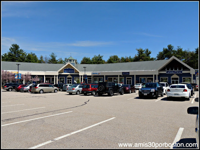 The Kittery Outlets en Maine