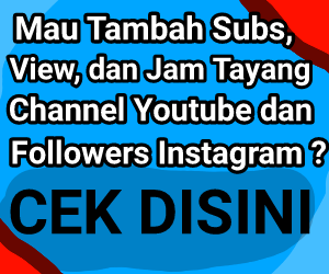 Jasa Tambah Subs dan View Channel Youtube