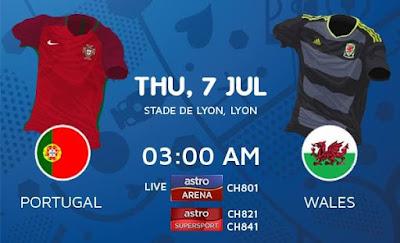 Portugal Vs Wales EURO 2016