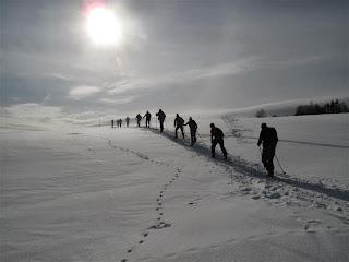 Biegówki, Beskidy- Beskid Niski, wyprawa, trasy narciarstwa biegowego