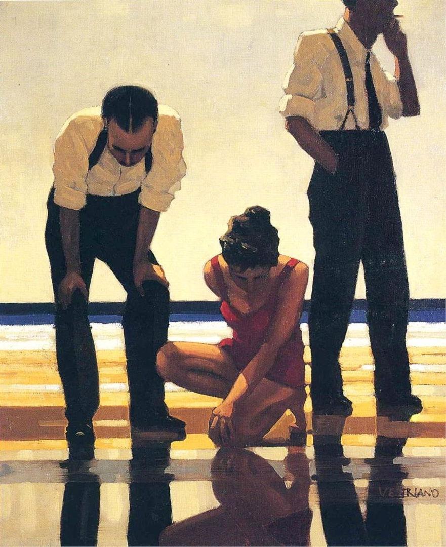 obraz Jack Vettriano - Narcissistic Bathers