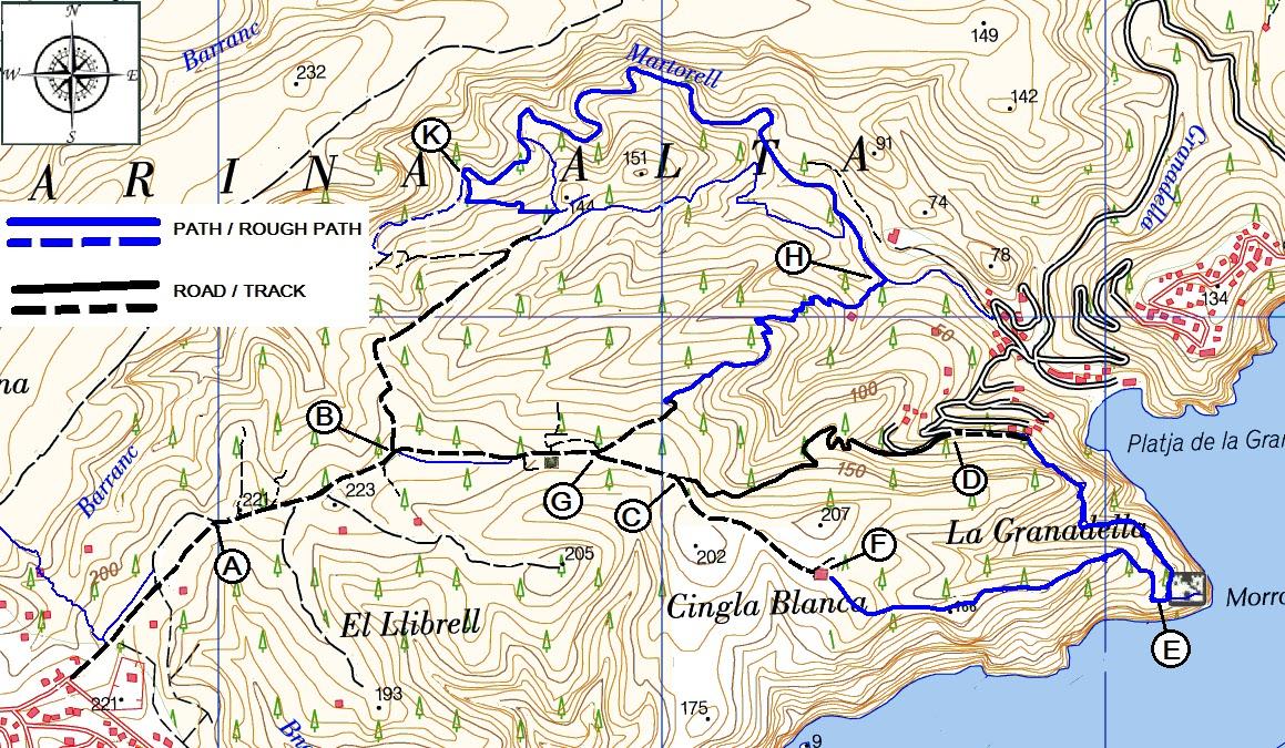 Costa Blanca Mountain Walks