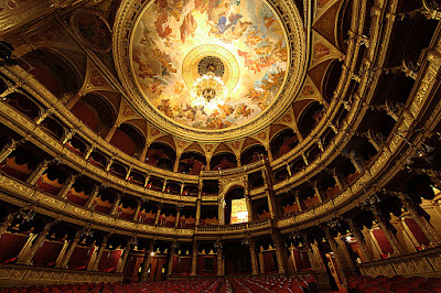 Hungarian State Opera House in Budapest Excellently Designed By Architects