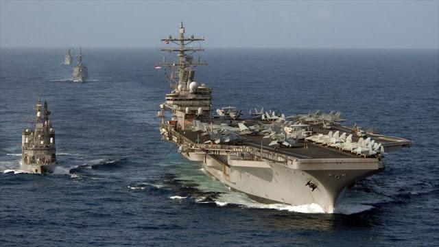 EEUU envía portaviones USS Ronald Reagan a la península coreana