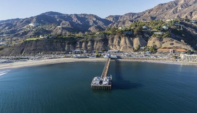 Ponto turístico Pier de Malibu