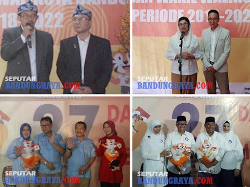 Pasangan calon Walikota Bandung 2018