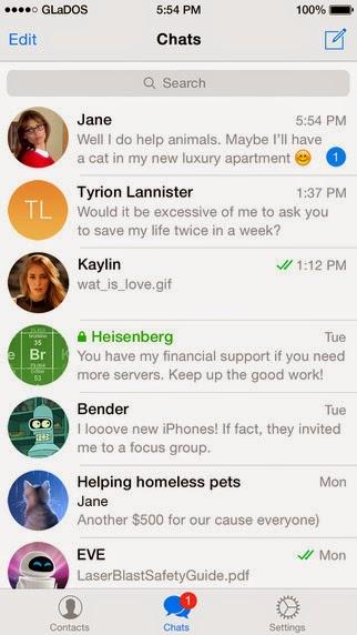 Telegram Messenger si aggiorna alla vers 3.6