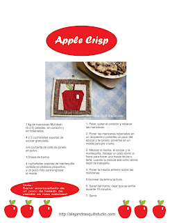 Pie de manzana, receta