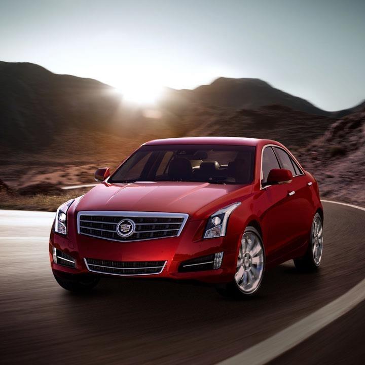 Cadillac Ats 2012: Beauty And Automotives: New Cadillac ATS Sedan